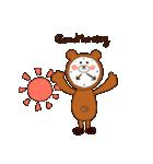 クマ着ぐるみおじさん(個別スタンプ:03)