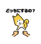 「まめ田ちゃめ助」柴犬スタンプ(個別スタンプ:01)