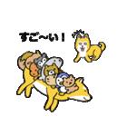 「まめ田ちゃめ助」柴犬スタンプ(個別スタンプ:19)