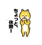 「まめ田ちゃめ助」柴犬スタンプ(個別スタンプ:20)