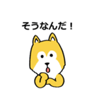 「まめ田ちゃめ助」柴犬スタンプ(個別スタンプ:39)
