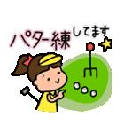 ゴルフ女子のまいにち~第二弾~(個別スタンプ:06)