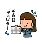 ゴルフ女子のまいにち~第二弾~(個別スタンプ:10)