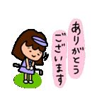 ゴルフ女子のまいにち~第二弾~(個別スタンプ:16)