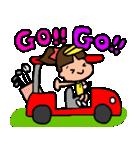 ゴルフ女子のまいにち~第二弾~(個別スタンプ:19)