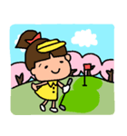 ゴルフ女子のまいにち~第二弾~(個別スタンプ:21)