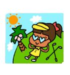 ゴルフ女子のまいにち~第二弾~(個別スタンプ:22)