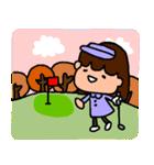 ゴルフ女子のまいにち~第二弾~(個別スタンプ:23)