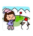 ゴルフ女子のまいにち~第二弾~(個別スタンプ:24)