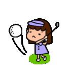 ゴルフ女子のまいにち~第二弾~(個別スタンプ:28)