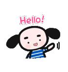 pocoくんとpepeちゃん(個別スタンプ:01)