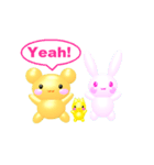 3D☆アンドレア☆ダンス&フィギュア(個別スタンプ:10)
