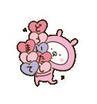 愛しの桃色ウサギ3(個別スタンプ:19)