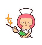 おかっぱナース3(個別スタンプ:08)