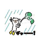 動く!白いアルパカさんの暑い夏(個別スタンプ:23)