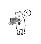 勤労意欲の低い猫(個別スタンプ:07)