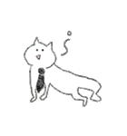 勤労意欲の低い猫(個別スタンプ:23)