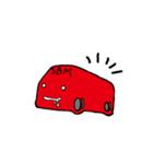 箱車さん キモかわスタンプ(個別スタンプ:21)