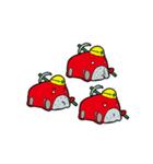 箱車さん キモかわスタンプ(個別スタンプ:25)