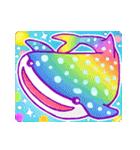 レインボー 虹色スタンプ(個別スタンプ:19)