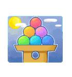 レインボー 虹色スタンプ(個別スタンプ:28)