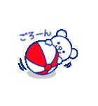 ☆マリンくま★第3弾(個別スタンプ:32)