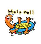 かわいい亀さんたち(個別スタンプ:07)
