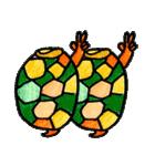かわいい亀さんたち(個別スタンプ:21)