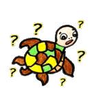 かわいい亀さんたち(個別スタンプ:25)