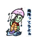 かわいい亀さんたち(個別スタンプ:27)