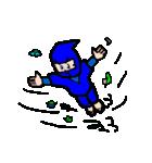 カラフル忍者(個別スタンプ:3)