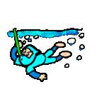 カラフル忍者(個別スタンプ:7)
