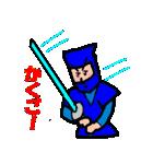 カラフル忍者(個別スタンプ:17)