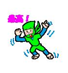 カラフル忍者(個別スタンプ:25)