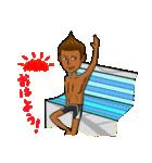 日焼をテーマにしたスタンプ(日本版)(個別スタンプ:03)