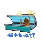 日焼をテーマにしたスタンプ(日本版)(個別スタンプ:21)