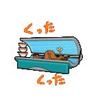 日焼をテーマにしたスタンプ(日本版)(個別スタンプ:34)
