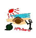 日焼をテーマにしたスタンプ(日本版)(個別スタンプ:36)