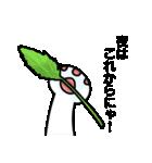 涙ネコ~白まろとふるえる?~(個別スタンプ:38)