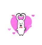 可愛すぎないウサギ【基本セット】(個別スタンプ:28)