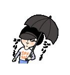 吹き出しのお供に!【2】夏のスタンプ(個別スタンプ:3)