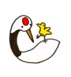 ほのぼのタンチョウヅル(個別スタンプ:12)