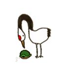ほのぼのタンチョウヅル(個別スタンプ:24)
