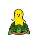 ほのぼのタンチョウヅル(個別スタンプ:34)