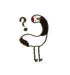 ほのぼのタンチョウヅル(個別スタンプ:35)
