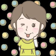 [LINEスタンプ] お母さんも使えるスタンプ! (1)