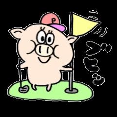 豚スタンプdeゴルフ!ブタスタGolf