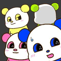 【関西弁ver】色々パンダのメッセージ