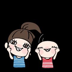 桜ちゃんと、菊ちゃん