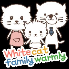 白猫家族の日常